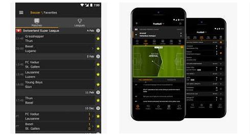 Cara mengakses fitur livescore pada media aplikasi Sbobet mobile